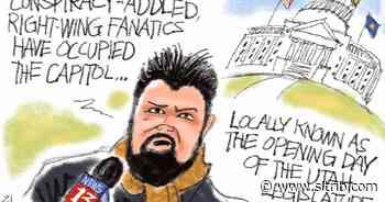 Bagley Cartoon: Capitol Offense