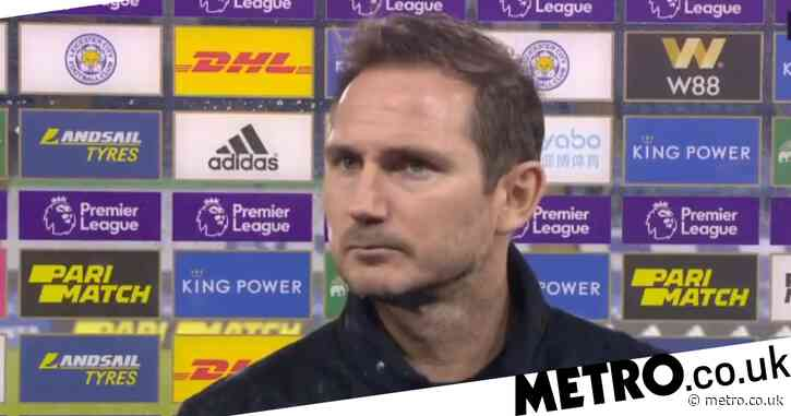 'Worried' Frank Lampard blasts Chelsea stars after Leicester City defeat