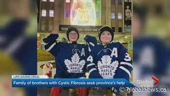 Family of Ontario brothers with Cystic Fibrosis fight to fast track life-saving drug