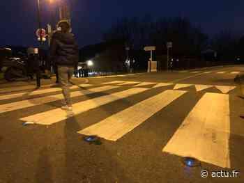 Yvelines. Elancourt : des passages piétons éclairés au sol la nuit - actu.fr