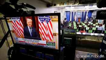 Gebete für die neue Regierung: Trump lobt in Abschiedsrede seine Bilanz