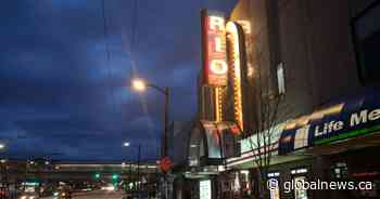 Rio Theatre set to re-open as sports bar as movie theatres remain closed in British Columbia