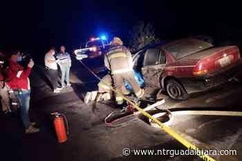 Colisión frontal con un fallecido en El Grullo - NTR Guadalajara