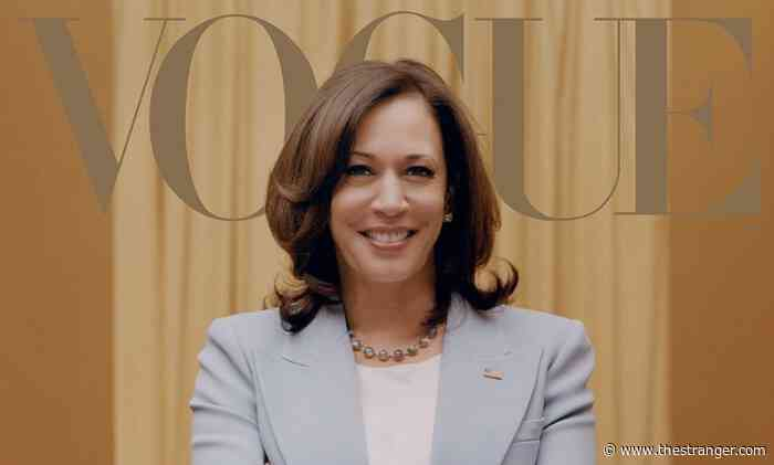 How to Look at Kamala Harris's Vogue Cover