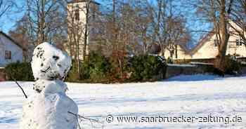 In den Wäldern von Homburg, Bexbach, Kirkel droht jetzt Schneebruch - Saarbrücker Zeitung