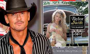 Tim McGraw reflects on Taylor Swift naming her 2006 debut single after him