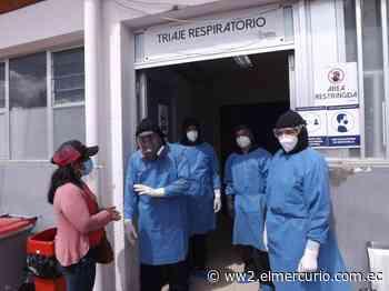 Hospital de Azogues al límite en Unidad de Cuidados Intensivos por casos de COVID-19 - El Mercurio (Ecuador)