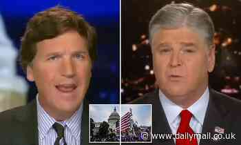 Tucker Carlson says the Democrats will start a war on our own people to route out Trump supporters