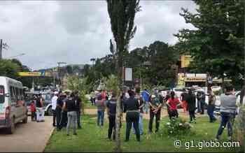 Comerciantes protestam contra medidas restritivas em Monte Verde e Camanducaia, MG - G1