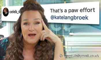 Kate Langbroek is mocked for making an embarrassing emoji blunder