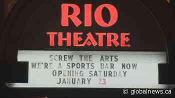 "East Van's Rio Theatre set to reopen as a ""sports bar"""