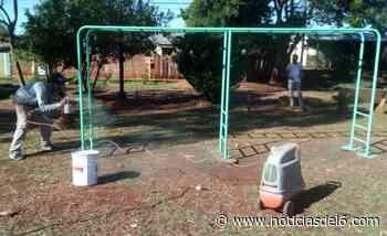 Reparan y acondicionan plazas en Dolores Sur - Noticiasdel6.com
