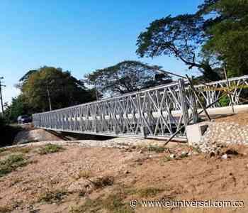 Entregan nuevo puente a Mahates | EL UNIVERSAL - Cartagena - El Universal - Colombia