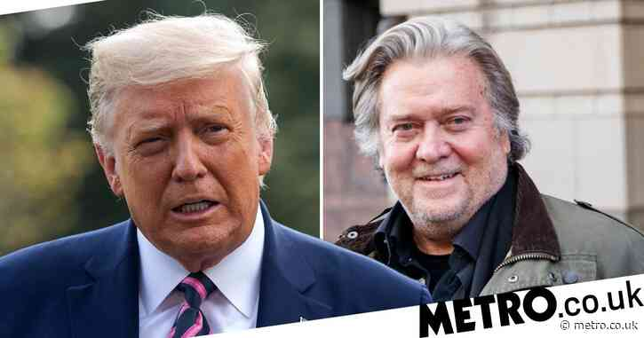 Donald Trump pardons Steve Bannon and 142 others in final hours in White House