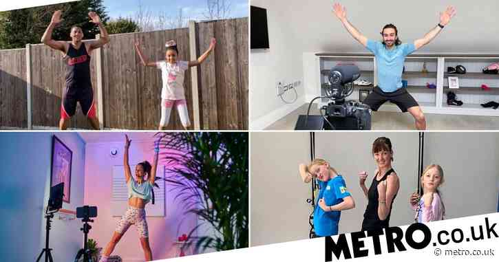 Top family-friendly online workouts to do in lockdown
