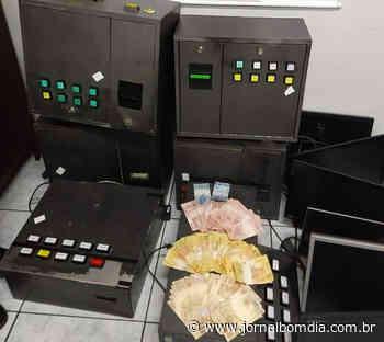 Getúlio Vargas: Polícia apreende mais de R$ 3,6 mil em máquinas caça níqueis | Jornal Bom Dia - Jornal Bom Dia