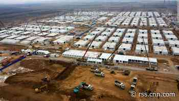 China builds massive Covid-19 quarantine camp for 4,000 people