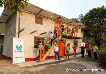 Junín: Restauran local comunal de caficultores en Pangoa - INFOREGION