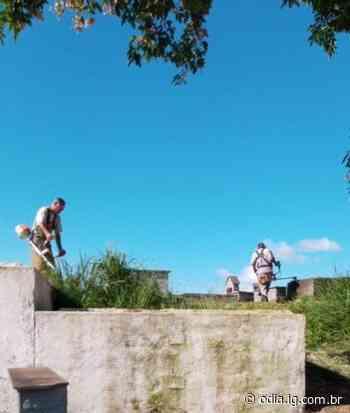 Cemitério Municipal de Volta Redonda ganha equipe de manutenção permanente - O Dia