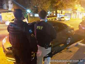 PRF flagra veículo clonado no Centro, de Volta Redonda - Destaque Popular