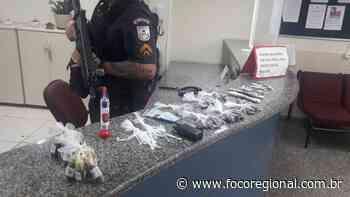 Suspeito é preso com arma e drogas em Volta Redonda - Foco Regional