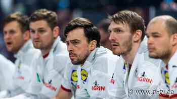 Sieg gegen Spanien ein Muss: DHB-Team sucht schon den Rechenschieber