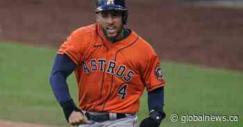Toronto Blue Jays sign All Star outfielder George Springer