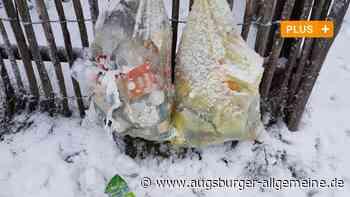 Gelber Sack: Wegen Corona gibt es mehr Müll im Landkreis Augsburg - Augsburger Allgemeine