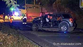 Un muerto y tres lesionados en accidente de tránsito en Conchagua, La Unión - elsalvador.com