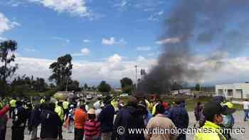 Sujeto se salvó de morir incinerado en Latacunga - Diario Los Andes