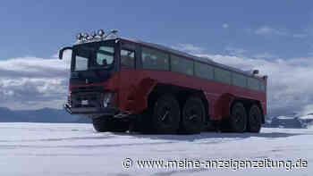 Sleipnir: Dieser Bus ist selbst am Gletscher kaum zu stoppen – braucht aber ordentlich Sprit