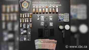 4 people charged after $3,700 worth of street drugs seized in Burlington: police