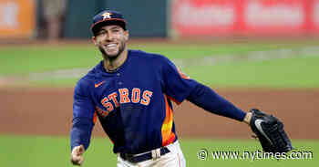 George Springer Signs $150 Million Deal With Toronto Blue Jays