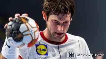 Denkzettel vom Bundestrainer: Was ist nur los mit Kapitän Gensheimer?
