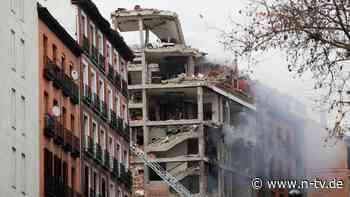 Haus schwer beschädigt: Gewaltige Explosion in Madrid