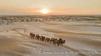 Unglaubliches Wetterphänomen: Deshalb liegt plötzlich Schnee in der Sahara