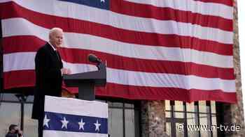 """""""Haben viel vor für Tag eins"""": Biden stellt Trump-Politik auf den Kopf"""