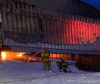 Early morning fire destroys grocery and retail store in Igloolik, Nunavut