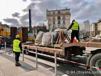 Choisy-le-Roi : retour de la statue de Rouget de Lisle après deux ans de repos - 94 Citoyens