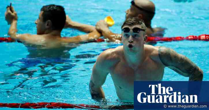 Adam Peaty in Team GB squad and 'very hopeful' Tokyo Games will go ahead