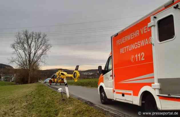 """FW-Velbert: Internistischer Notfall in der Luft - Hubschrauber """"kapert"""" Rettungswagen"""