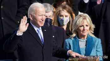 Machtwechsel in Washington: Joe Biden als 46. Präsident der USA vereidigt