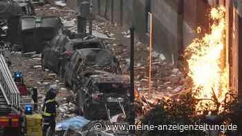 Explosion in Madrid mit Toten: Ursache scheint klar zu sein - Videos zeigen Ausmaß der Zerstörung