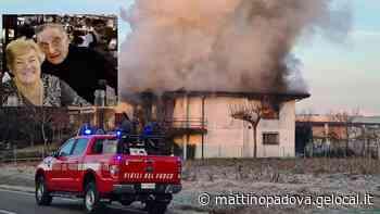 Casa in fiamme a San Giorgio in Bosco, morti due pensionati nell'incendio - Il Mattino di Padova