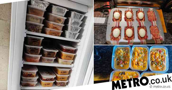 Mum cuts £50 from weekly shopping bill by batch cooking 108 meals at a time