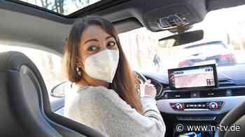 Fenster öffnen - aber welche?: Forscher untersuchen Corona-Gefahr im Auto