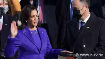 Erste schwarze Vizepräsidentin: Kamala Harris schreibt US-Geschichte