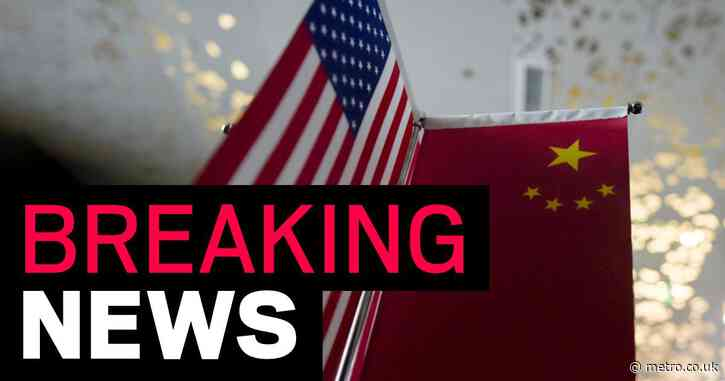 China sanctions 28 US officials including Pompeo for violating its 'sovereignty'