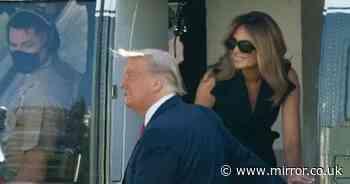 Odd 'fake Melania' conspiracy theory resurfaces - and Trump's explanation