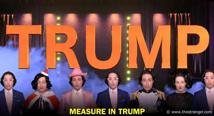 Can Donald Trump Please Take Randy Rainbow With Him?